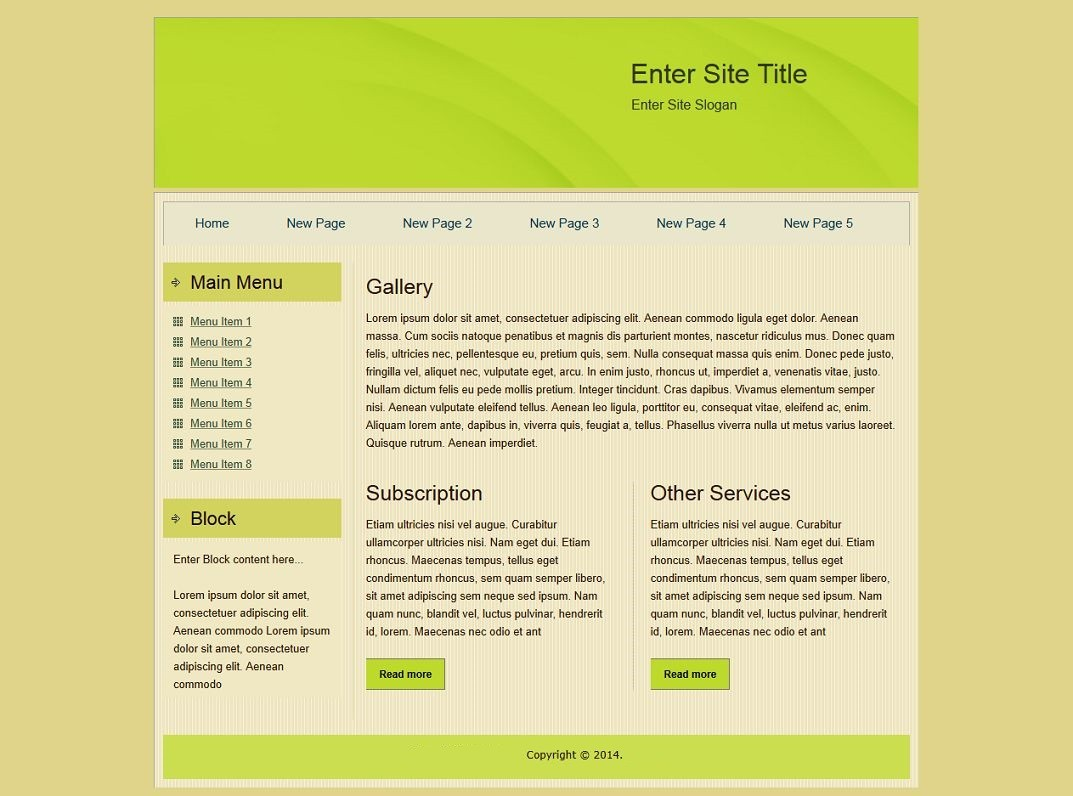 Html templates for Simple html templates free